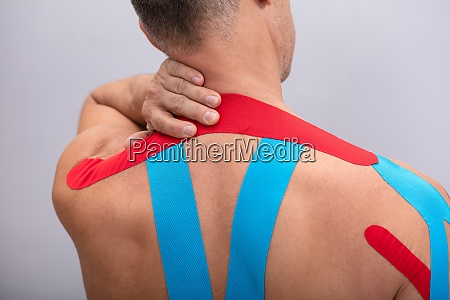 rear view of man with physio