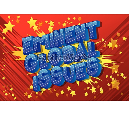 eminent global issues comic book