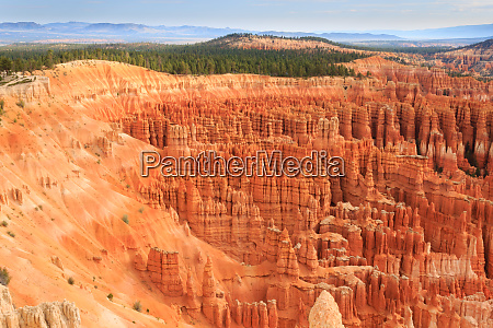 panorama from bryce canyon national park