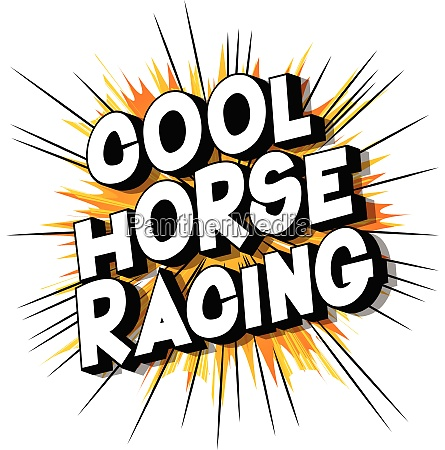 cool horse racing comic book