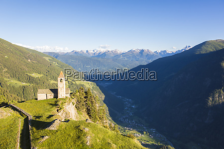 ancient church perched on mountains san