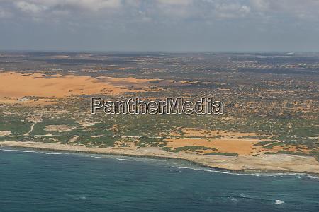 coastline of somalia africa