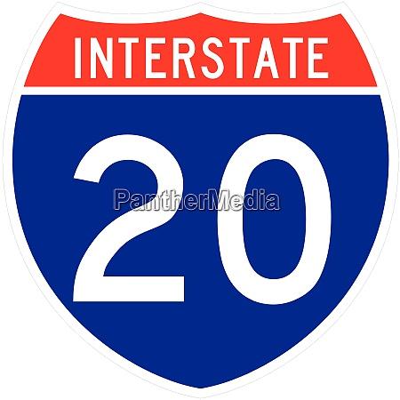 interstate shield