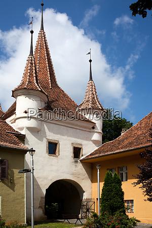 beautiful medieval city of brasov transylvania