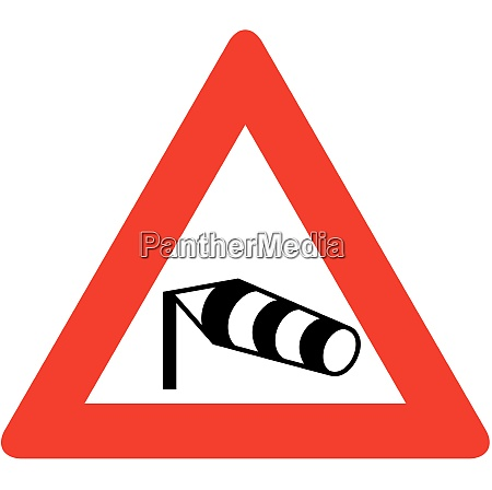 possible danger of strong cross wind