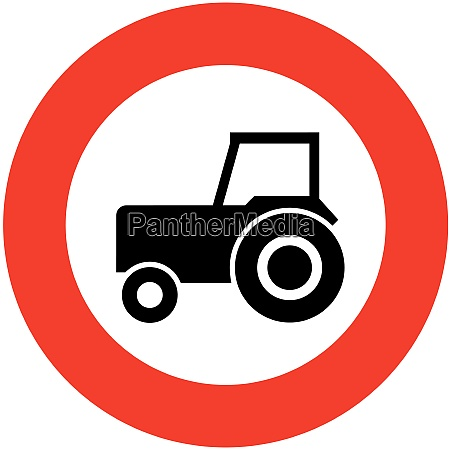 no slow agricultural or motor vehicles
