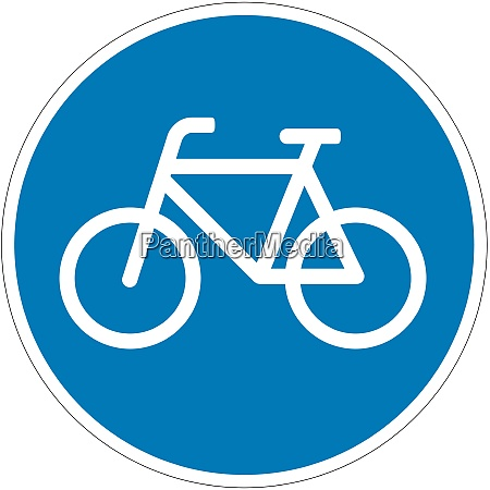compulsory cycle track