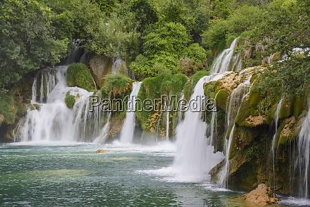 skradinski buk waterfalls krka national park