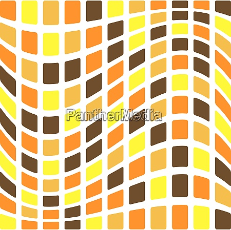 illustration of an abstract seamless tile