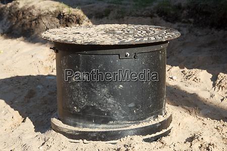 a sewerage well