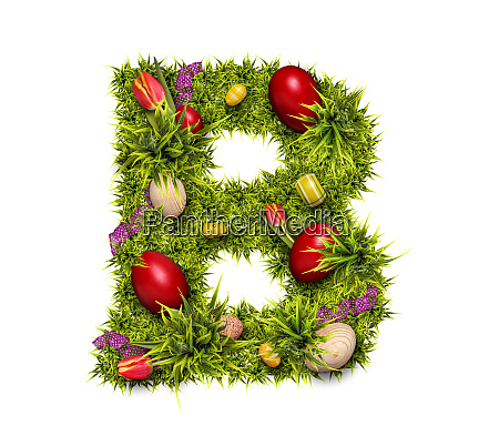 easter holiday letter b