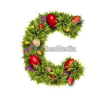 easter holiday letter c