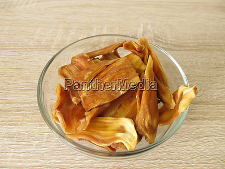 dried fruits from jackfruit