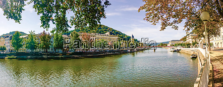 panorama of bad ems in summer