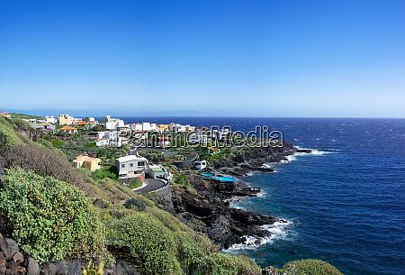 view to the village la caleta