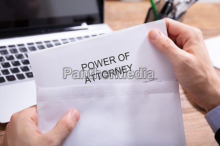 person removing power of attorney document