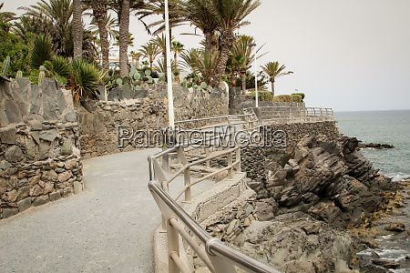 seafront with stones