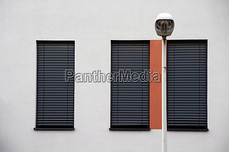 modern window front