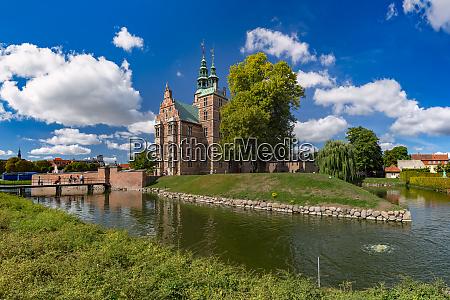 rosenborg castle in copenhagen denmark