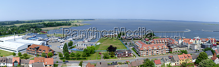 harbour and bodden of barth