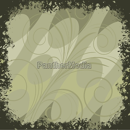 background with green lines and abstract