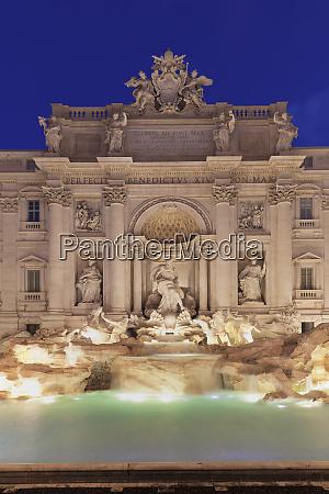 trevi fountain fontana di trevi rome