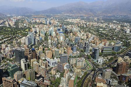 sanhattan metropolis from gran torre santiago