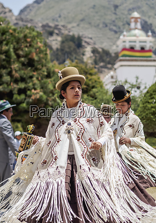 dancers in traditional costume fiesta de