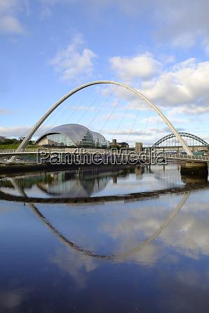 the millennium bridge tyne bridge and