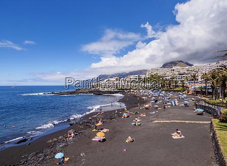 beach in puerto de santiago tenerife
