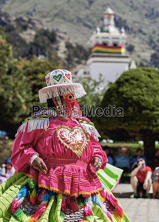 dancer, in, traditional, costume, , fiesta, de - 26478914