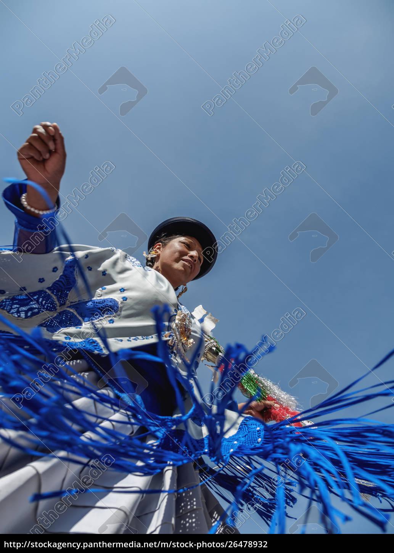 dancer, in, traditional, costume, , fiesta, de - 26478932