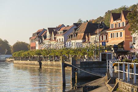 lower town meersburg baden wurttemberg germany