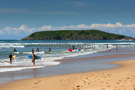 parks beach in coffs harbour with