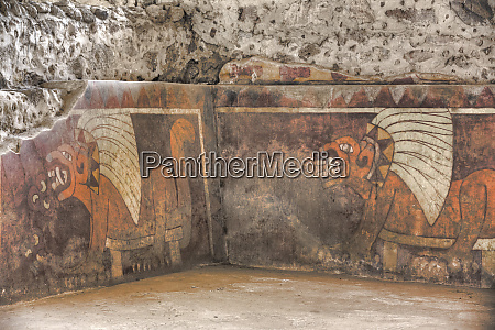wall mural of jaguars palace of