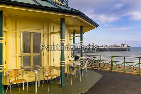 kiosk and brighton palace pier brighton