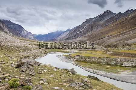 on the way to kargil beside