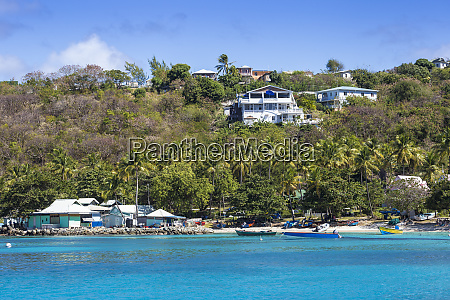 view of lovell village mustique the