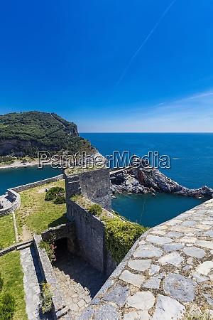 the doria castle portovenere liguria italy