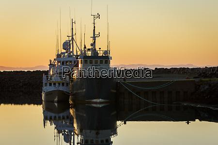 fishing boats in the charming fishing