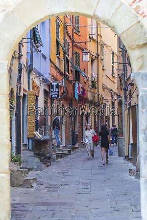 village gateway porta del borgo portovenere