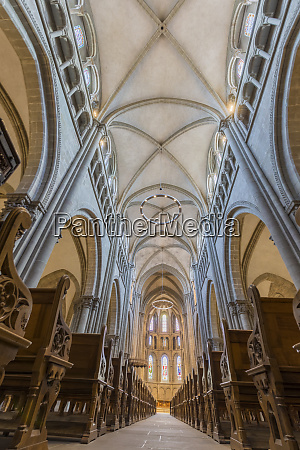 interior of st peters cathedral geneva