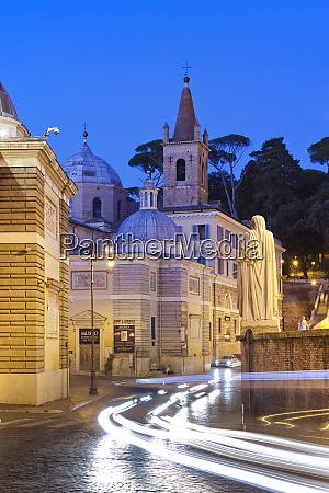 piazza del popolo rome lazio italy