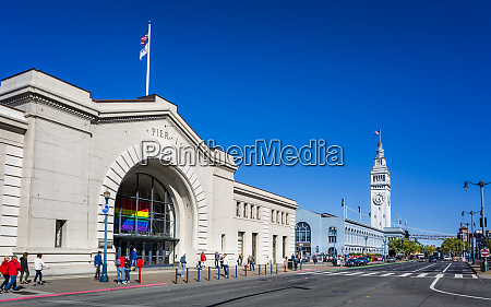 pier 1 and ferry building san