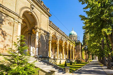 mirogoj cemetery zagreb croatia europe