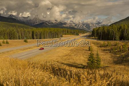 traffic on trans canada highway 1