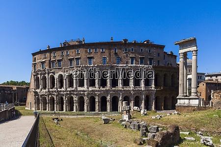 teatro marcello rome lazio italy europe