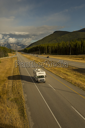 traffic on trans canada highway 1