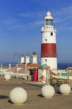 europa point lighthouse gibraltar united kingdom
