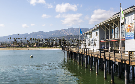 view of santa barbara beach malibu